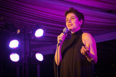 christine andreas headlines wcc benefit